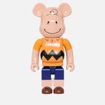 Игрушка Medicom Toy Bearbrick x Peanuts Charlie Brown Version 1000% фото- 0