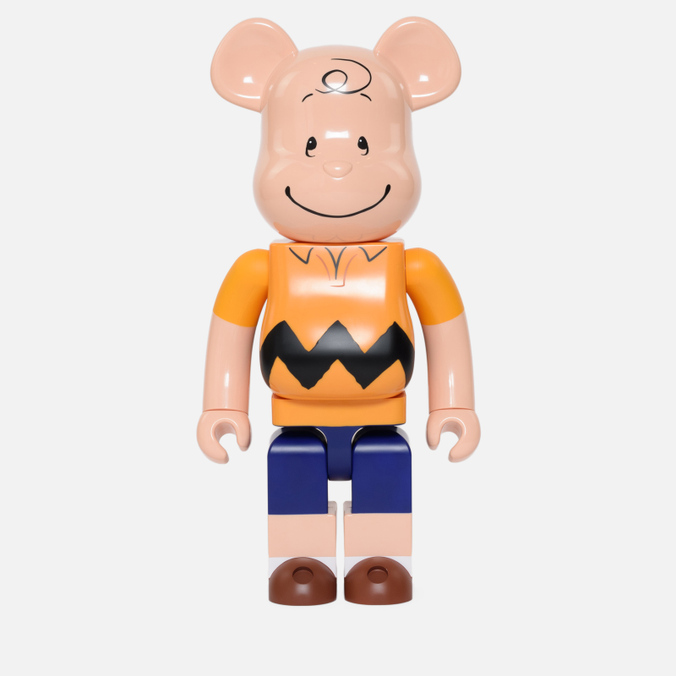 Игрушка Medicom Toy Bearbrick x Peanuts Charlie Brown Version 1000%