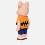Игрушка Medicom Toy Bearbrick x Peanuts Charlie Brown Version 1000% фото- 1