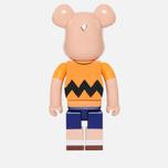 Игрушка Medicom Toy Bearbrick x Peanuts Charlie Brown Version 1000% фото- 2