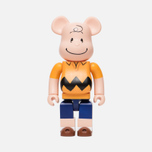 Игрушка Medicom Toy Bearbrick x Peanuts Charlie Brown Version 400% фото- 0