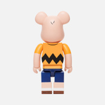 Игрушка Medicom Toy Bearbrick x Peanuts Charlie Brown Version 400% фото- 1