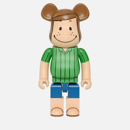Игрушка Medicom Toy Bearbrick x Peanuts Peppermint Patty Version 1000%