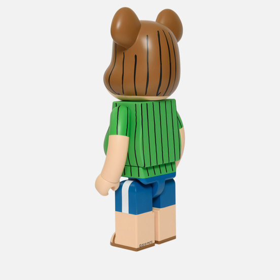 Игрушка Medicom Toy Bearbrick x Peanuts Peppermint Patty Version 1000%