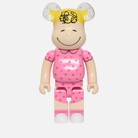 Игрушка Medicom Toy Bearbrick x Peanuts Sally Brown Version 1000%