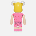 Игрушка Medicom Toy Bearbrick x Peanuts Sally Brown Version 1000% фото- 2