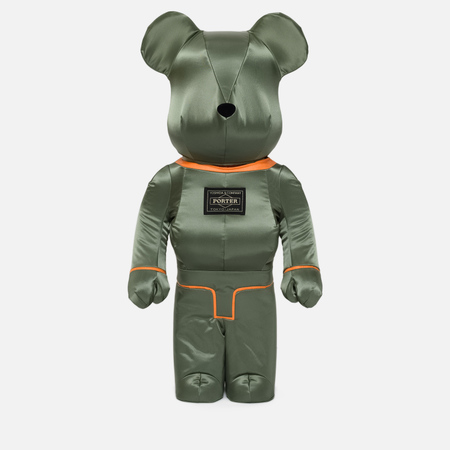 Игрушка Medicom Toy Bearbrick x Porter Tanker Sage Green 1000%