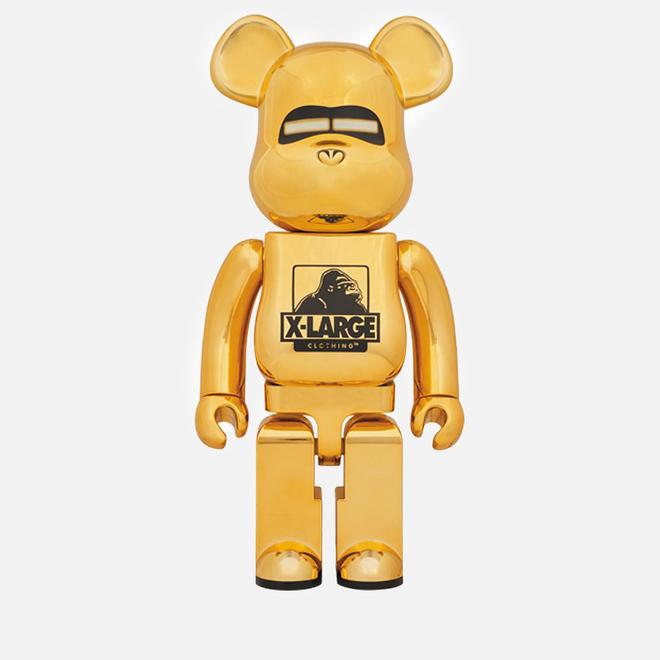 Игрушка Medicom Toy Bearbrick XLARGE x Hajime Sorayama Gold 1000%