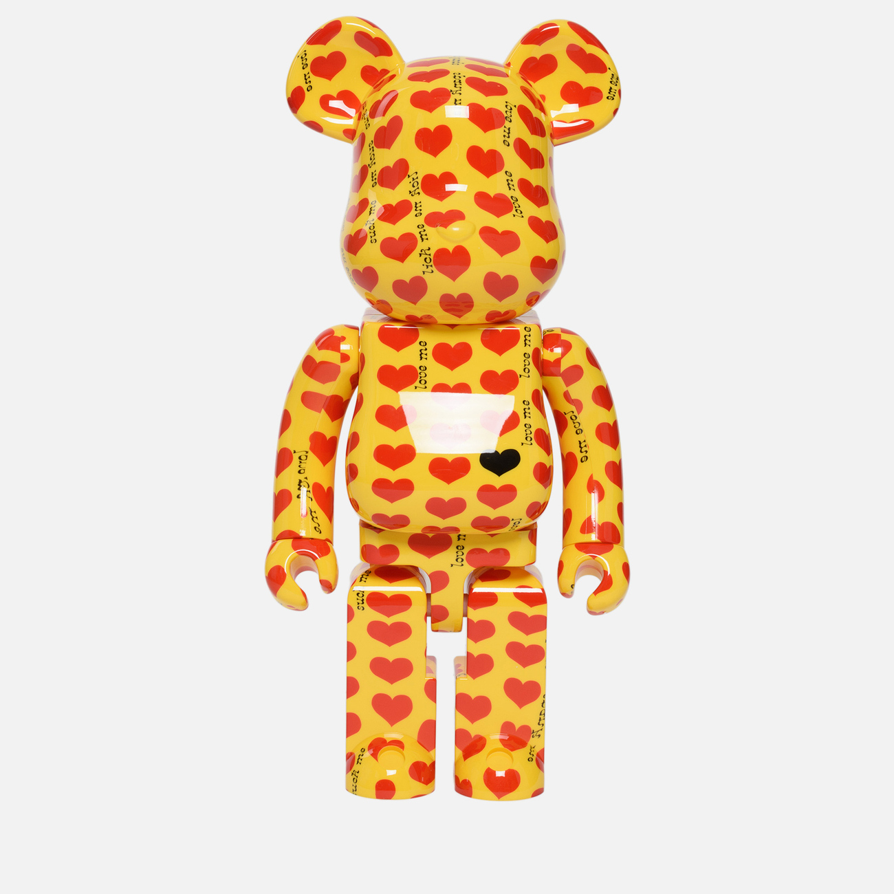 Игрушка Medicom Toy Bearbrick Yellow Heart 1000%