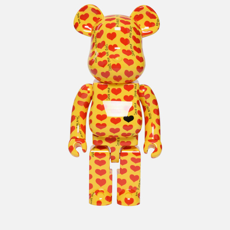 Игрушка Medicom Toy Bearbrick Yellow Heart 1000%