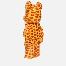 Игрушка Medicom Toy Bearbrick Yellow Heart 1000% фото- 1