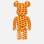 Игрушка Medicom Toy Bearbrick Yellow Heart 1000% фото- 2