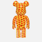 Игрушка Medicom Toy Bearbrick Yellow Heart 1000% фото - 2