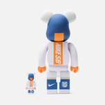 Игрушка Medicom Toy Bearbrick Nike SB Set White 100% & 400% фото- 1