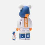 Игрушка Medicom Toy Bearbrick Nike SB Set White 100% & 400% фото- 2