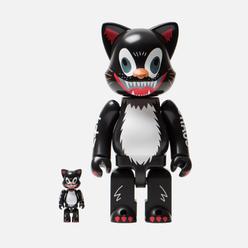 Игрушка Medicom Toy Nyarbrick Kidill Cat 100% & 400%