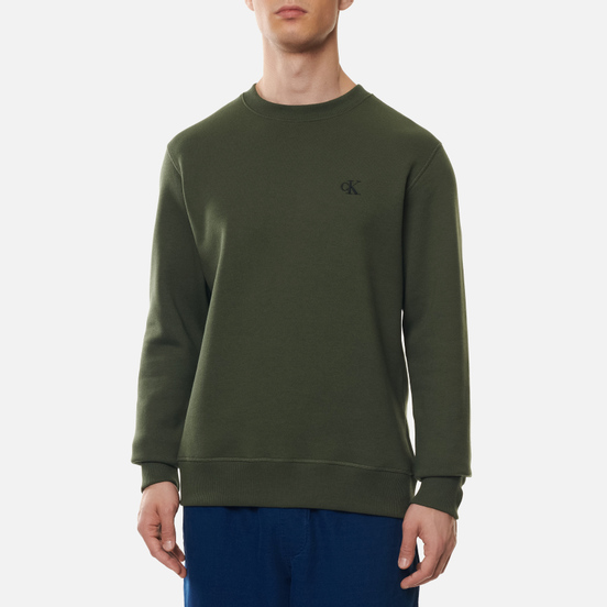 Мужская толстовка Calvin Klein Jeans Embroidered Logo Deep Depths