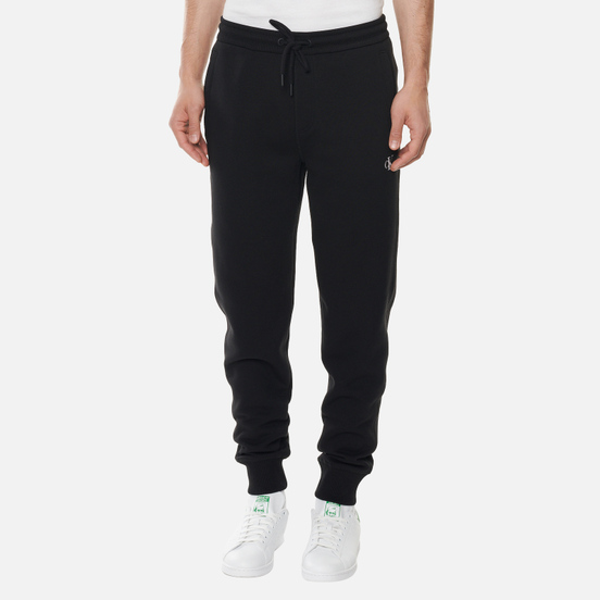 Мужские брюки Calvin Klein Jeans Cotton Blend Fleece Black