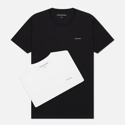 Комплект мужских футболок Calvin Klein Jeans 2 Pack Slim Black/White