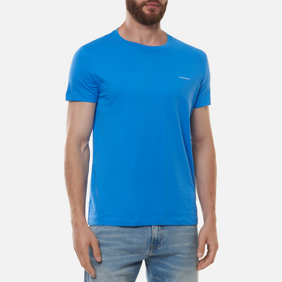 Комплект мужских футболок Calvin Klein Jeans 2 Pack Slim Mesmerizing Blue/ Black