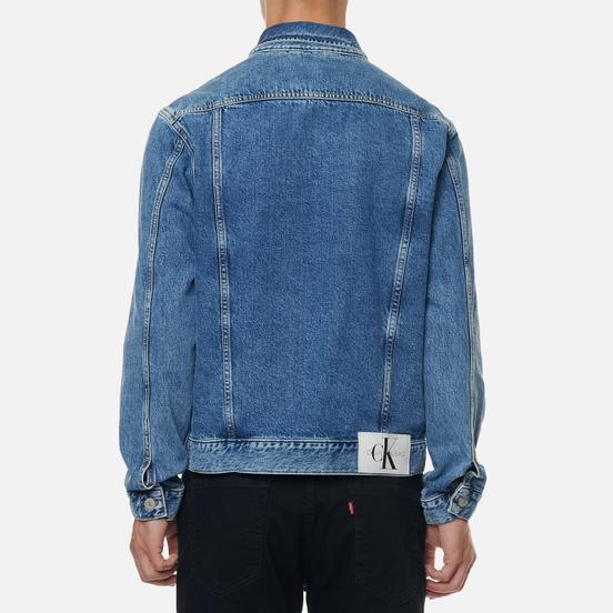 Мужская джинсовая куртка Calvin Klein Jeans 90s Denim Icn Mid Blue
