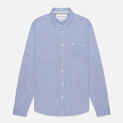 Мужская рубашка Calvin Klein Jeans Chambray Slim Stretch Classic Blue