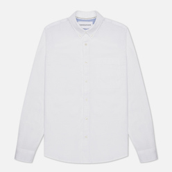 Мужская рубашка Calvin Klein Jeans Chambray Slim Stretch Bright White