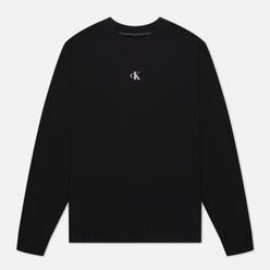 Мужская толстовка Calvin Klein Jeans Puff Print Crew Neck Black