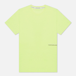 Мужская футболка Calvin Klein Jeans Back Skater Print Safety Yellow