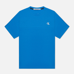 Мужская футболка Calvin Klein Jeans Puff Print Back Logo Meridian Blue