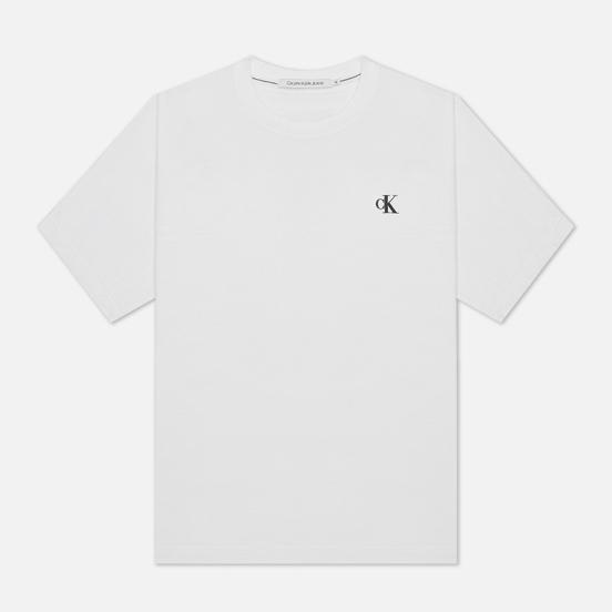 Мужская футболка Calvin Klein Jeans Puff Print Back Logo Bright White