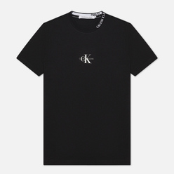 Мужская футболка Calvin Klein Jeans Center Monogram Black