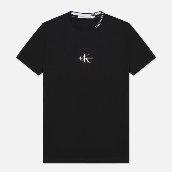 Мужская футболка Calvin Klein Jeans Center Monogram Black