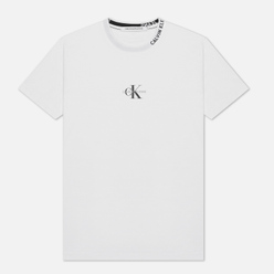 Мужская футболка Calvin Klein Jeans Center Monogram Bright White