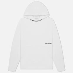 Мужская толстовка Calvin Klein Jeans Subtle Institutional Logo Hoodie Bright White