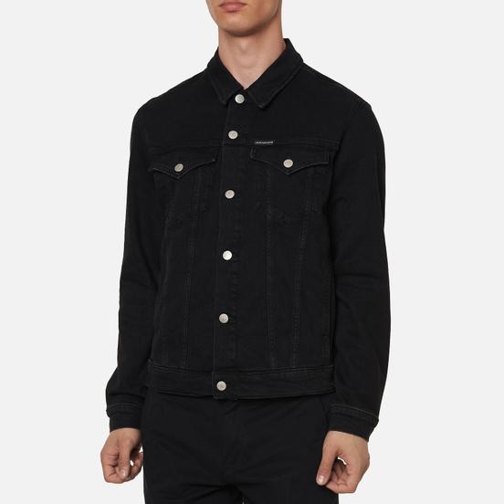 Мужская джинсовая куртка Calvin Klein Jeans Foundation Slim Washed Black