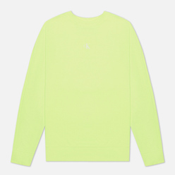 Мужская толстовка Calvin Klein Jeans Back Logo Neon Crewneck Safety Yellow