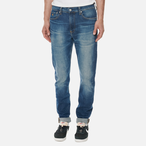 Мужские джинсы Calvin Klein Jeans Slim Tapered Bright Blue
