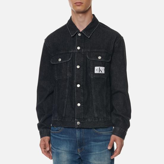 Мужская джинсовая куртка Calvin Klein Jeans Regular Black