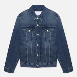 Мужская джинсовая куртка Calvin Klein Jeans Foundation Dark Blue