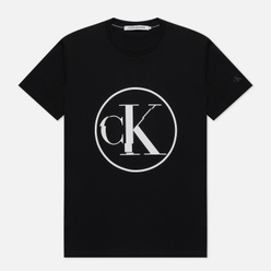 Мужская футболка Calvin Klein Jeans Round Distorted Black