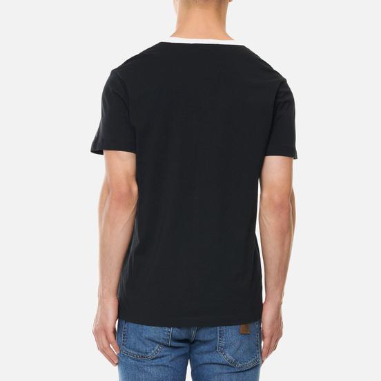 Мужская футболка Calvin Klein Jeans Round Distorted Pocket Black
