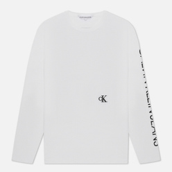 Мужской лонгслив Calvin Klein Jeans Car Photoprint Bright White