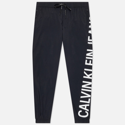 Мужские брюки Calvin Klein Jeans Stretch Logo Nylon Black