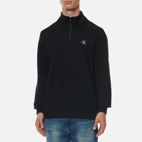 Мужская толстовка Calvin Klein Jeans Essential Mock Neck Black