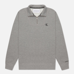 Мужская толстовка Calvin Klein Jeans Essential Mock Neck Mid Grey Heather