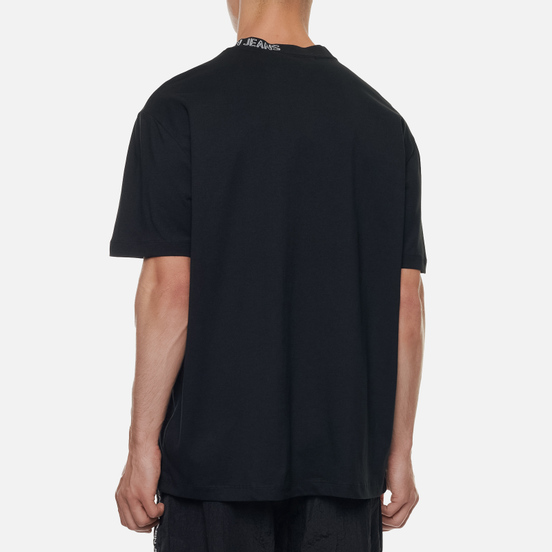 Мужская футболка Calvin Klein Jeans Collar Intarsia Black
