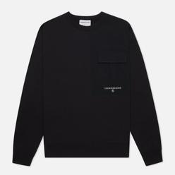 Мужская толстовка Calvin Klein Jeans Distorted Monogram Back Print Black