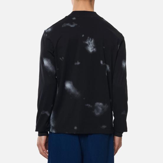 Мужской лонгслив Calvin Klein Jeans Cloud All Over Print Black