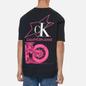 Мужская футболка Calvin Klein Jeans Fashion Biker Black фото - 3